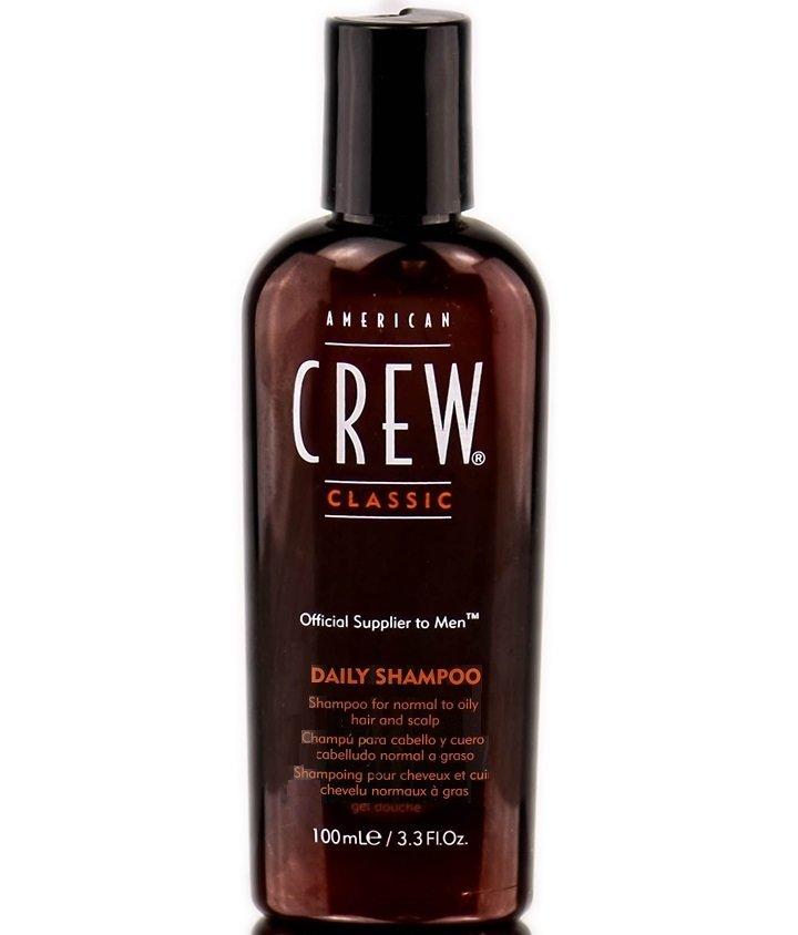 American Crew Daily Shampoo - Шампунь для ежедневного ухода за нормальными и жирными волосами 100 мл