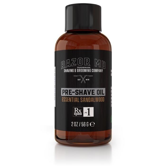 Razor MD Pre-Shave Oil Essential Sandalwood - Масло перед бритьем Сандал 60 мл