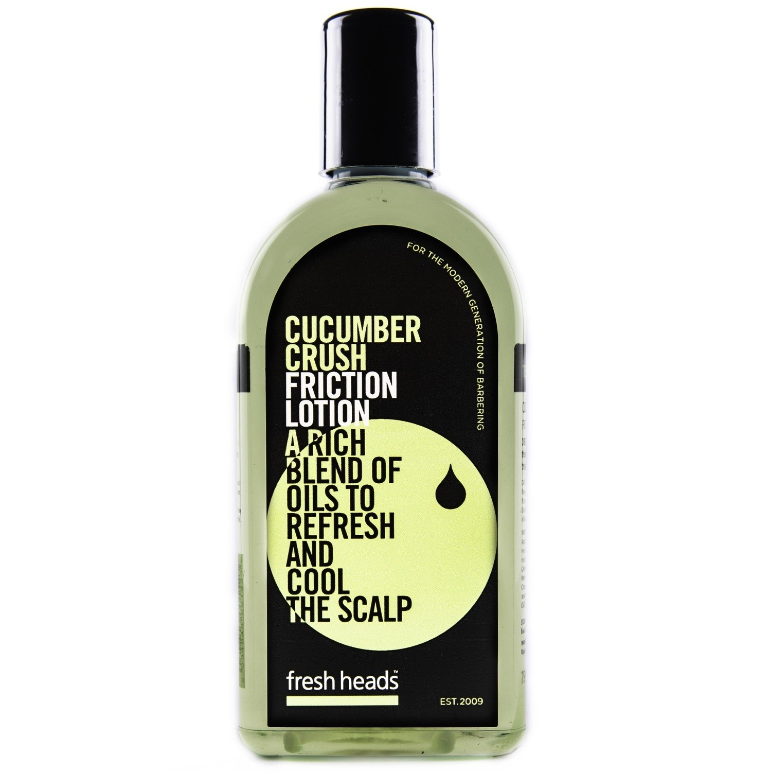 Fresh Heads Men's Grooming Tonic Cucumber Crush - Тоник для волос 250 мл