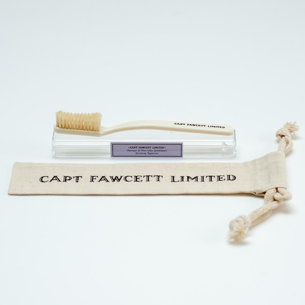 Зубная щетка Captain Fawcett Toothbrush с натуральной щетиной