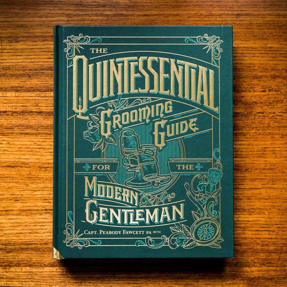 CAPTAIN FAWCETT Книга об истории мужского стиля The Quintessential Grooming Guide, английский язык