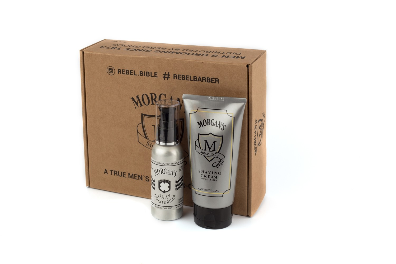 Morgans Подарочный набор крем для бритья + крем после бритья