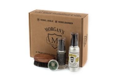 Morgans Подарочный набор для бороды с тестером