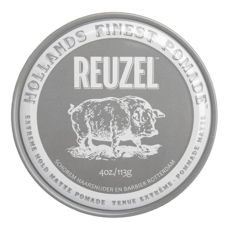 Reuzel Extreme Hold Matte Pomade - Матовая паста для укладки волос 113 гр 