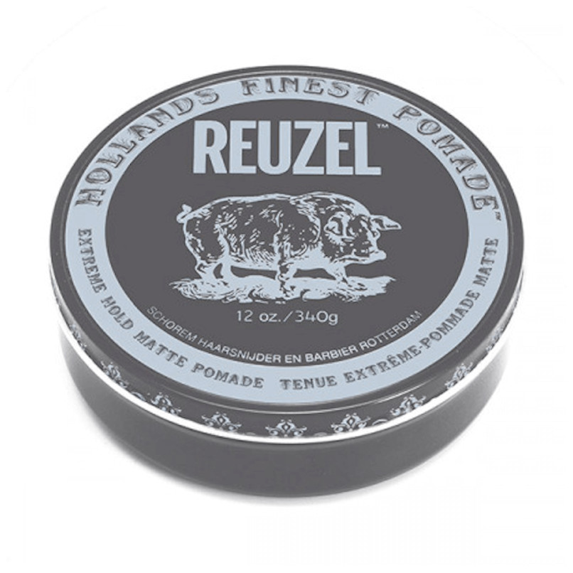 Reuzel Extreme Hold Matte Pomade - Матовая паста для укладки волос 340 гр