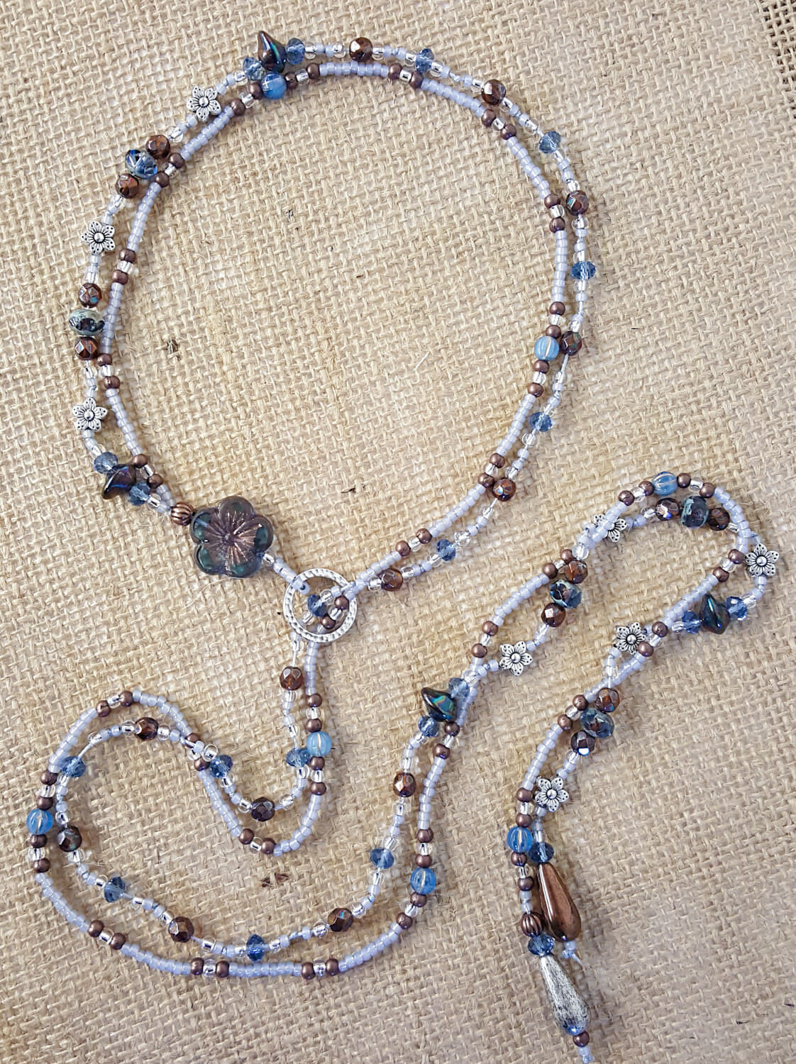____Knotted Lariat Necklace____ Saturday, February 8th * Noon - 3pm