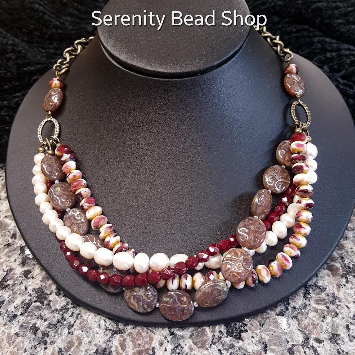____Multi-Strand Necklace____ Saturday, March 28th * Noon - 3pm  BEING RESCHEDULED