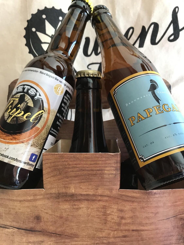 Ontdekkingspakket 6 regionale bieren