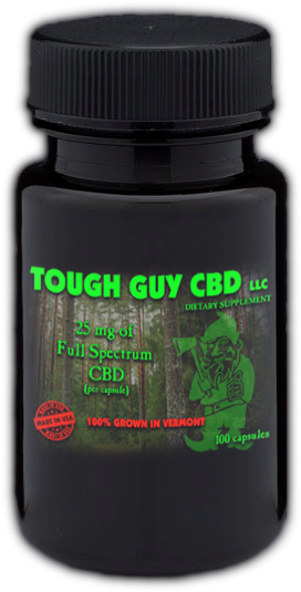 TOUGH GUY CBD CAPSULES  (10)