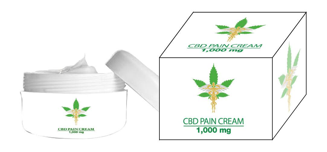 1000 MG CBD PAIN CREAM 2 OZ  BUY TWO GET ONE FREE