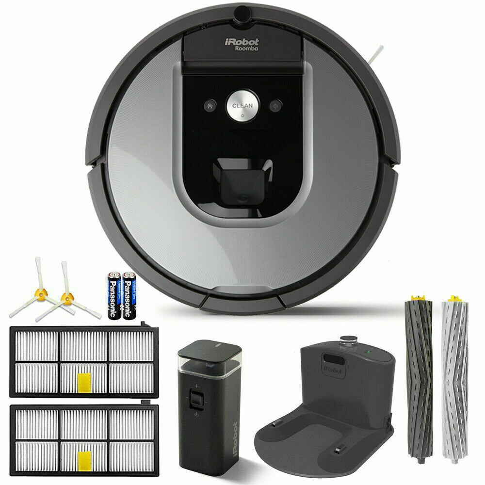 iRobot Roomba 960 App-Controlled Self-Charging Robot Vacuum - Gray  FREE SHIPPING BRAND NEW