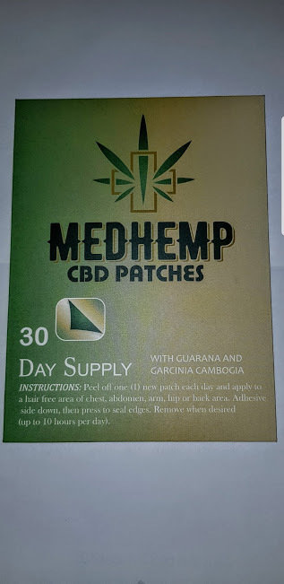 30 CBD PATCHES 30 MG PER PATCH BUY TWO GET ONE FREE