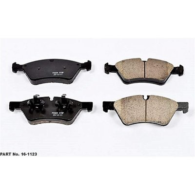 Ceramic Clean Ride Scorched Front Brake Pad