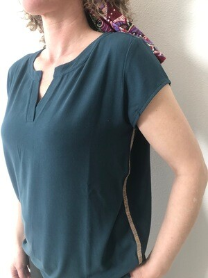SUNNY BEACH -  Short sleeve top