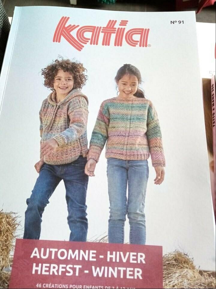 Katia kids herst winter - Nr. 91