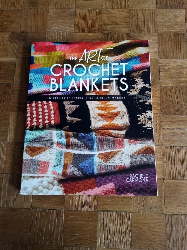 Art crochet blankets