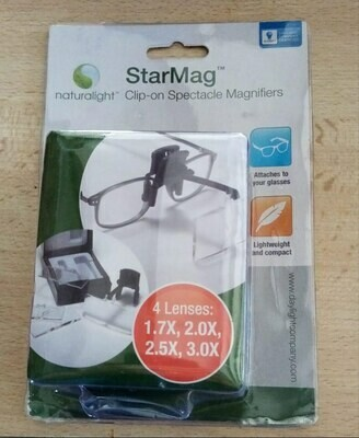 Starmag clip-on (4 vergrotingen)