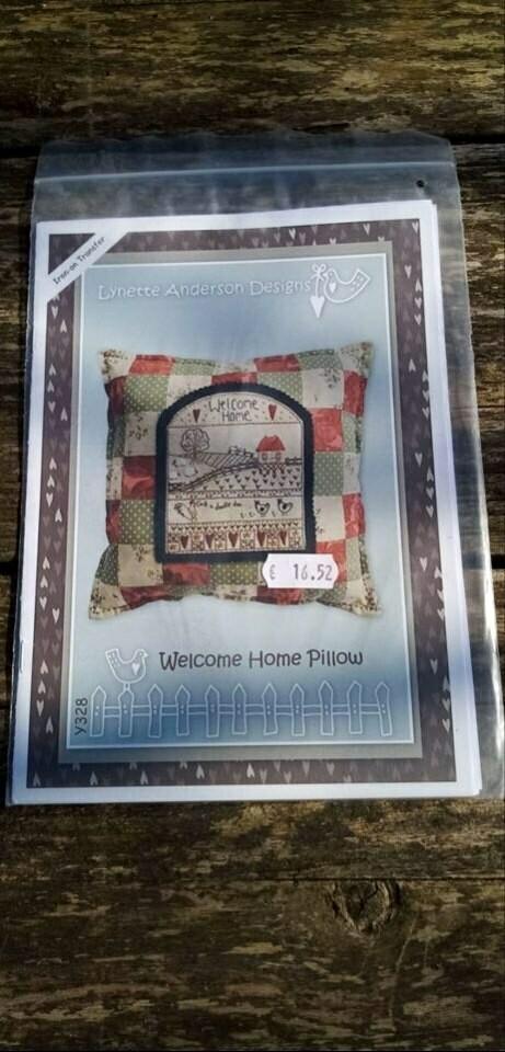 Patroon Welcome home kussen