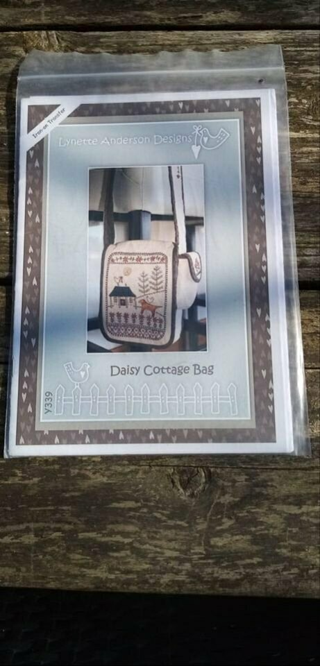 Patroon Daisy cottage bag