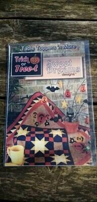 Patroon Trick & treat sweet dreams