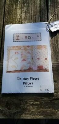 Patroon île aux fleurs pillows