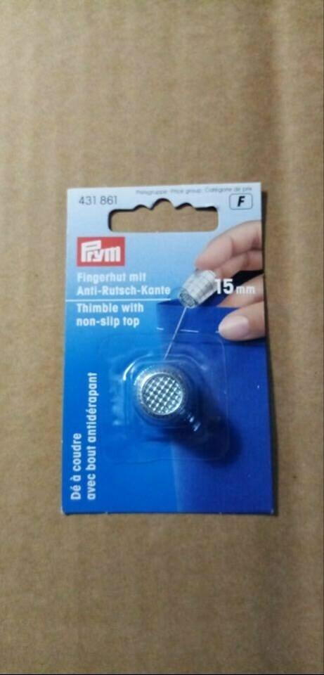 vingerhoed met antislip 15mm