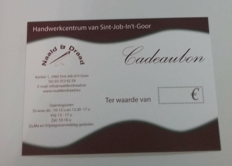 CADEAUBON 50 EURO