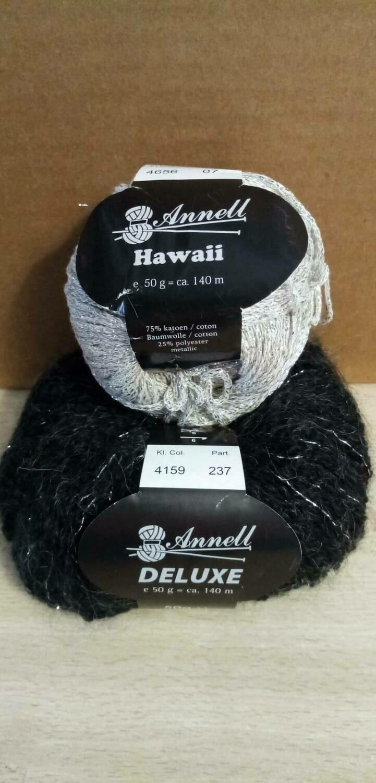 Breimodel oktober 2020 - zwart Deluxe / grijs Hawaii