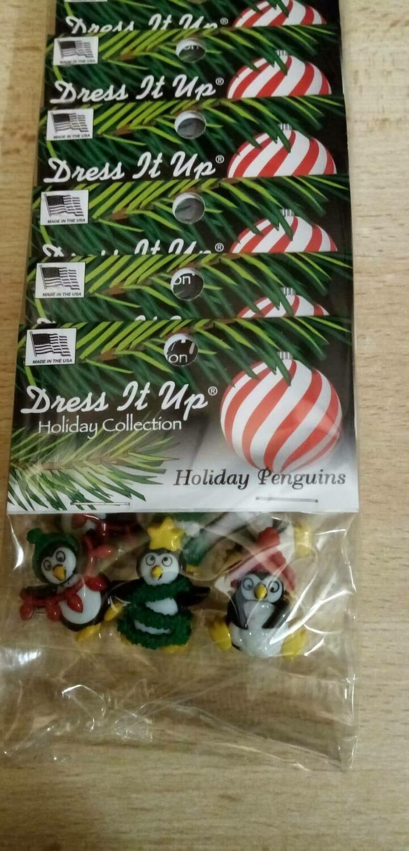 DRESS IT UP - KERST PINGUINS