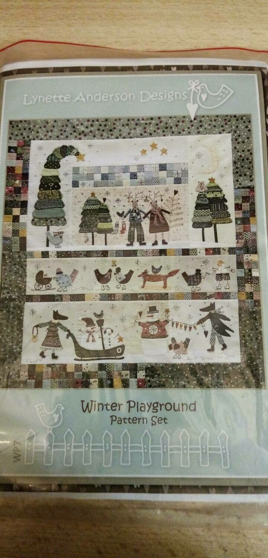 WINTERPLAYGROUND - LYNETTE ANDERSON - KERSTPATROON