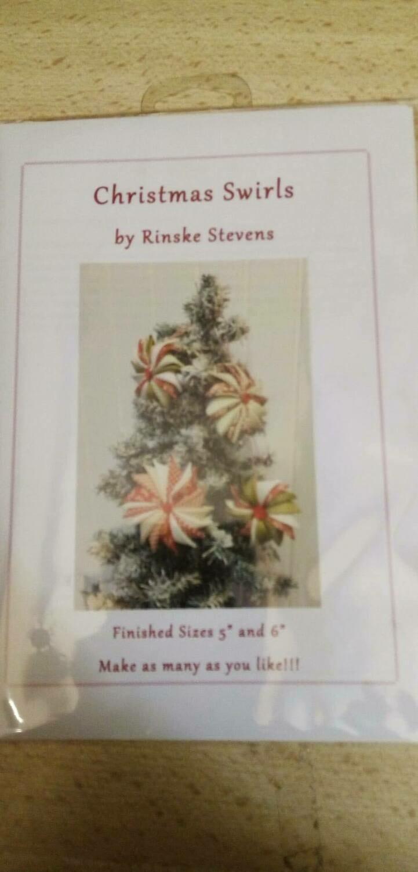 CHRISTMAS SWIRLS - LEUK KLEIN PROJECTJE - PATROON VOOR KERST