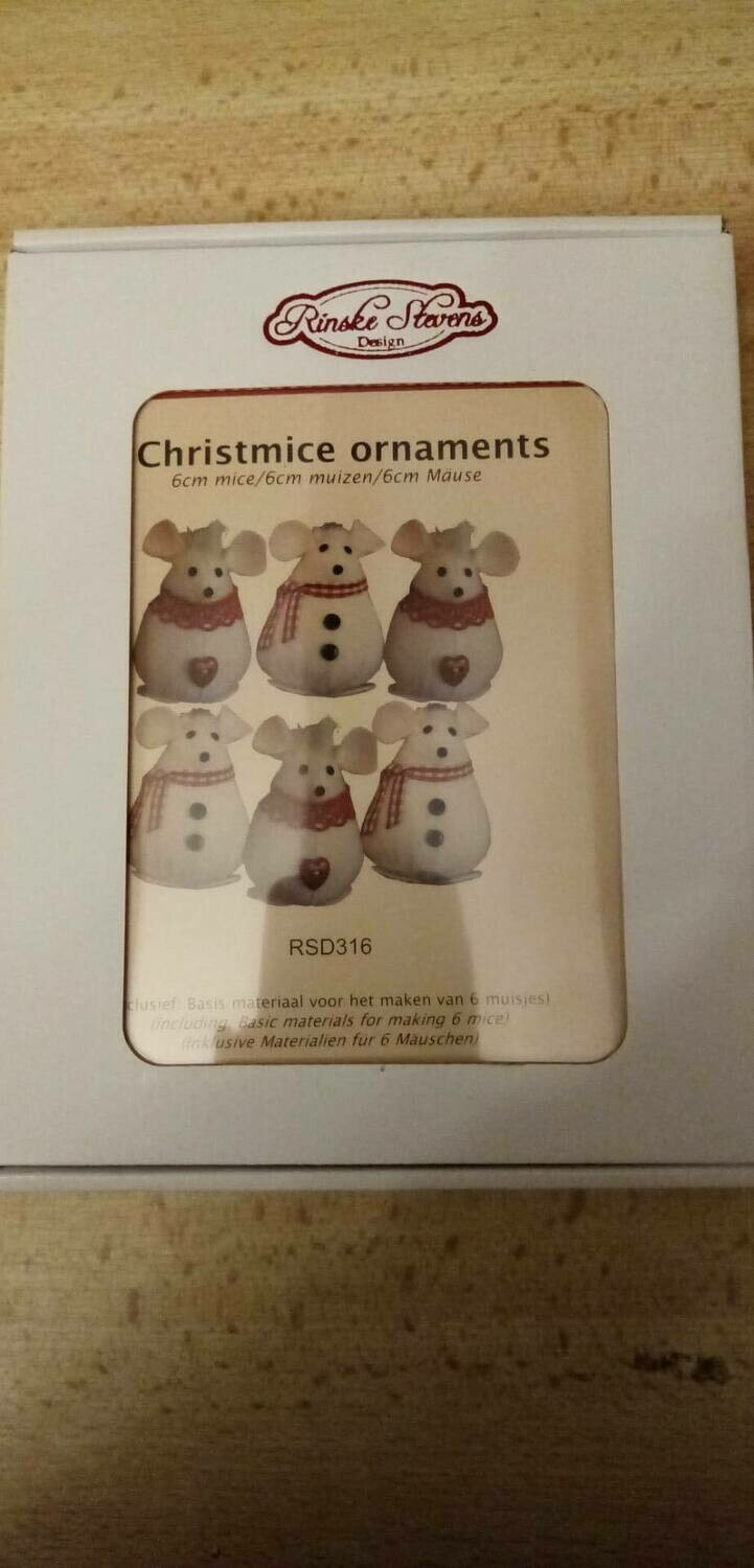 CHRISTMICE ORNAMENTS