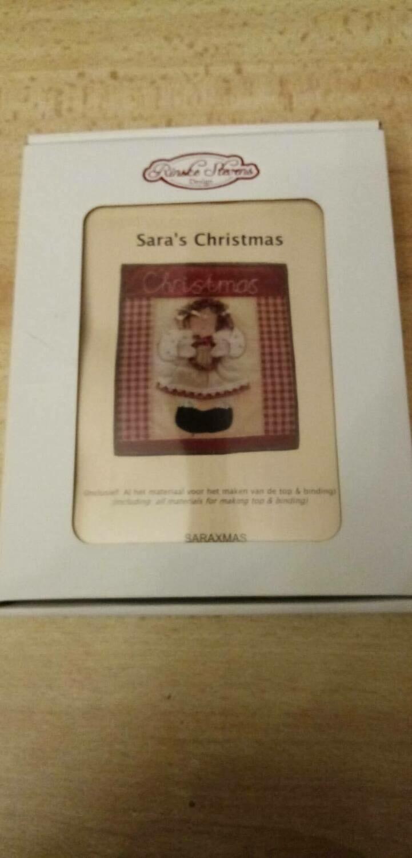 SARA'S CHRISTMAS - VOLLEDIG KERST PATCHWORKPAKKET