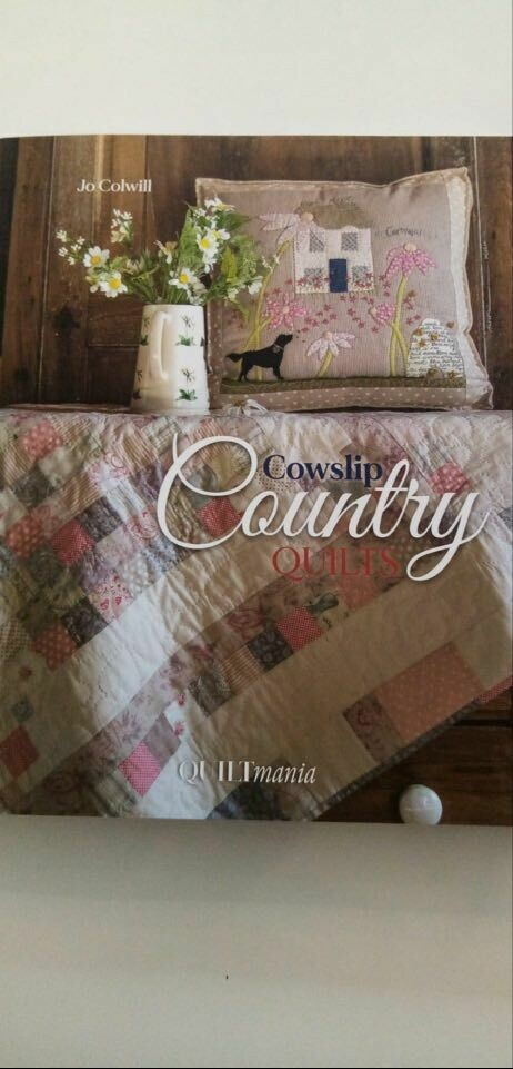 QUILTMANIA COWSLIP COUNTRY QUILTS VAN JO COWILL