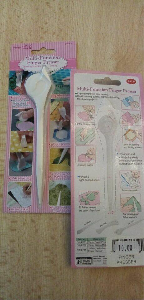 sew mate multi-function finger presser