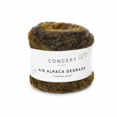 Air alpaca degradé kleur 63
