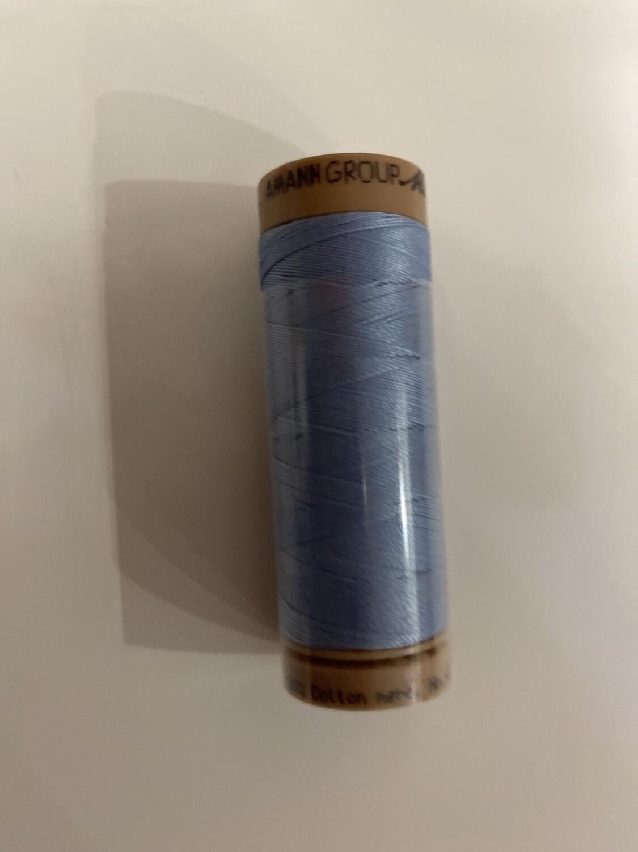 Silk Finish Cotton Licht Denim