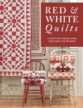 RED & WHITE QUILTS MARTINGALE
