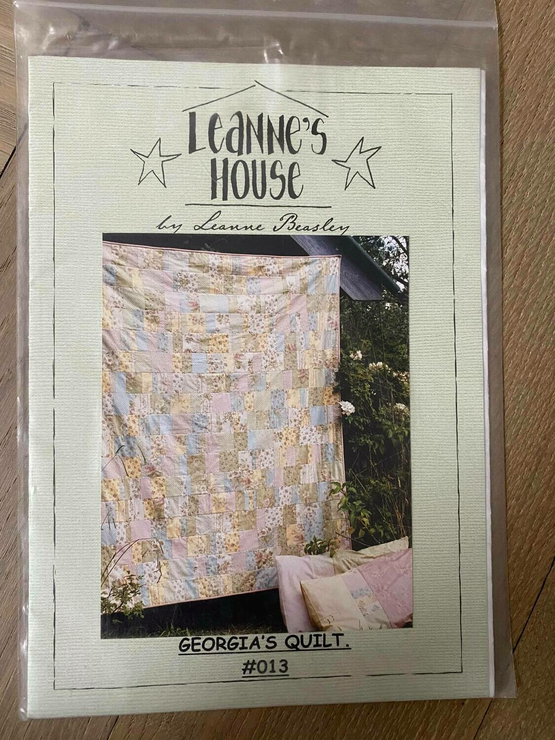 LEANNES HOUSE GEORGIAS QUILT
