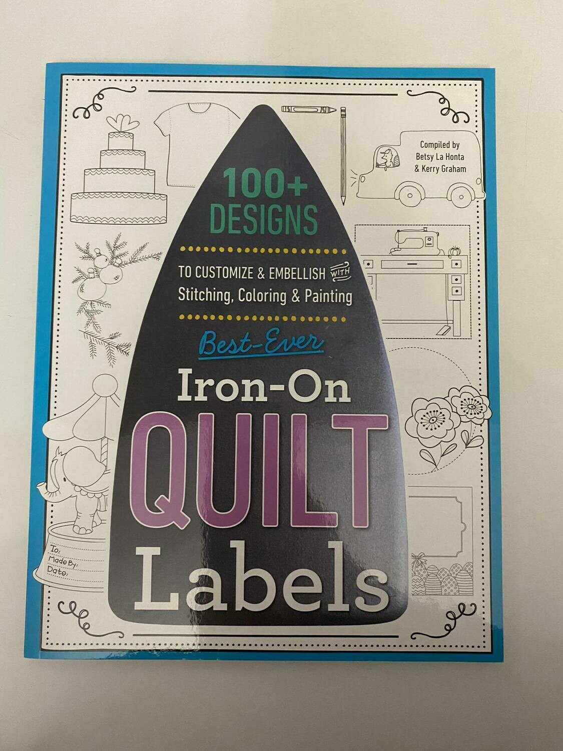 IRON ON QUILT LABELS