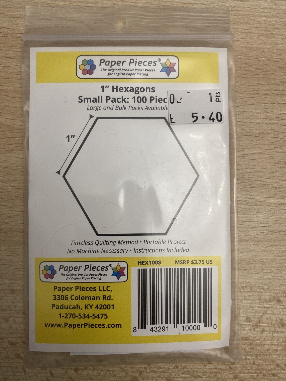 Hexagons Small Pack 100 Stuks