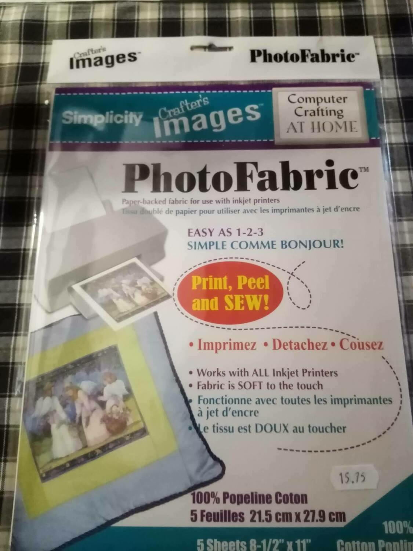 photofabric 21.5x27.9cm 5vel 010601013