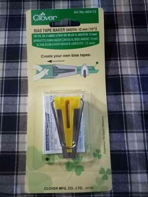 clover 464/12 bias tape maker 12mm