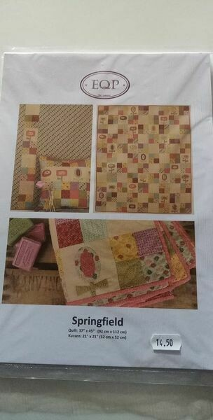 patroon Ellie's Quiltplace plait 92x112cm