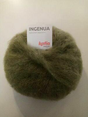 katia ingenua kleur 68=licht kaki groen