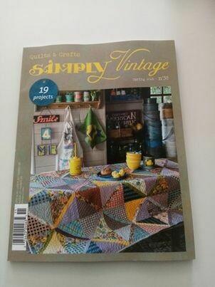 tijdschrift simply vintage spring 2021