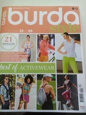 burda styles activewear