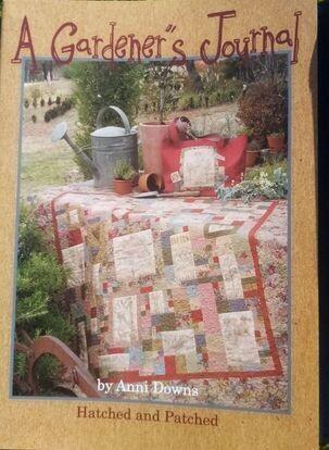 a gardener's journal by anni Downs