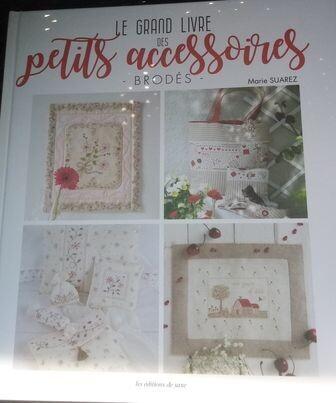 le grand livre des petits accessoires brodes Marie Suares