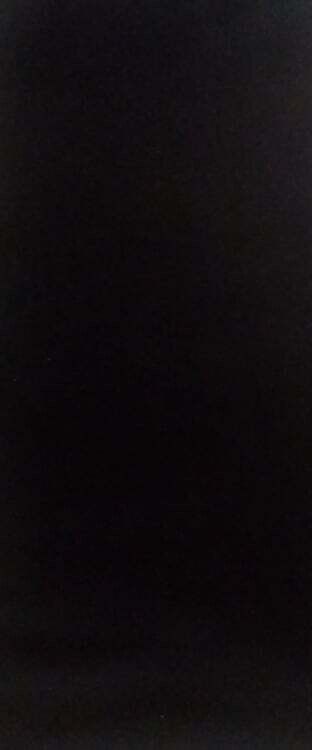 effen 71 = per 25 cm = zwart